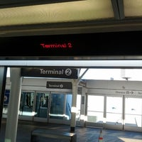 Photo taken at SFO AirTrain by Daton L. on 1/28/2012