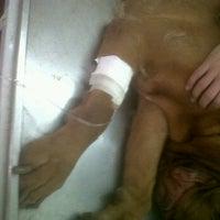 Photo taken at Hospital Veterinario Banfield by Patricio P. on 8/19/2012
