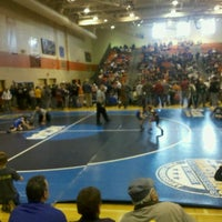 Photo taken at Osseo High School by Mikey L. on 1/29/2012
