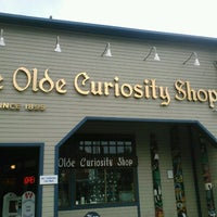 Photo taken at Ye Olde Curiosity Shop by Margot W. on 8/6/2012