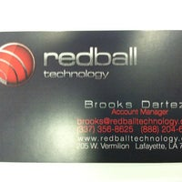 Photo taken at Redball Technology by Brooks D. on 11/22/2011