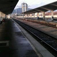 Photo taken at Železniška postaja Ljubljana / Train Station by jaKa on 12/4/2011