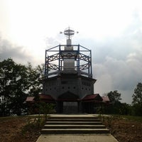 Photo taken at Tugu Katulistiwa (Equator) by Ronny I. on 4/19/2012