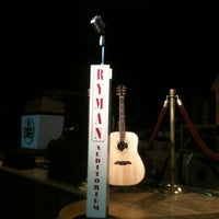 Photo taken at Ryman Auditorium by Jeff R. on 11/19/2011