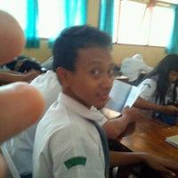 Photo taken at SMA Negeri 19 Surabaya by Khalif A. on 1/10/2012