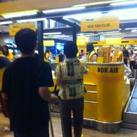 Photo taken at Nok Air (DD) Domestic Check-In Area by Silachai S. on 4/28/2012