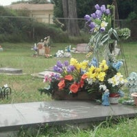 Photo taken at Castroville Cemetery by Morgan C. on 5/11/2012