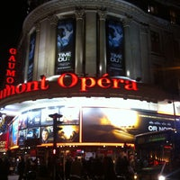 Photo taken at Gaumont Opéra (côté Capucines) by Abdou S. on 11/21/2011
