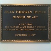 Photo taken at Spencer Museum Of Art by Colin L. on 11/3/2011