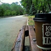 Photo taken at Парк Победы (на ул. им. Чуйкова) by Sasha S. on 5/24/2012