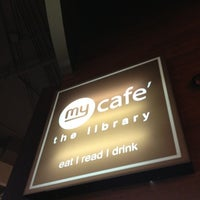 Photo taken at My Café The Library by kook c. on 8/18/2012