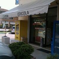 Photo taken at Edicola Tabaccheria ES by Daniela A. on 5/5/2012