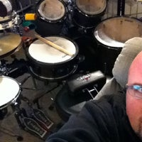 Photo taken at Eric Wagner's Drum Studio by Eric W. on 10/27/2011