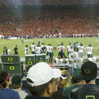 Photo taken at Arizona Stadium by Brian F. on 9/25/2011