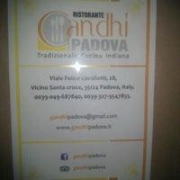 Photo taken at Ristorante Gandhi by Christina B. on 10/5/2011