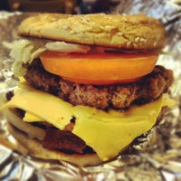 Photo taken at Five Guys by Christopher H. on 4/1/2012