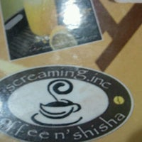Photo taken at Screaming.inc Cafe Shisha N Espresso by Palermo S. on 11/28/2011