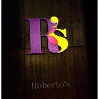 Photo taken at Roberto's by Faris K. on 6/24/2012