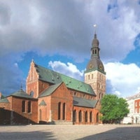 Photo taken at Rīgas Doms | Riga Cathedral by Николай С. on 8/8/2012