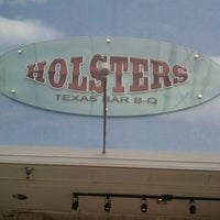 Photo taken at Holsters BBQ by Trent O. on 4/22/2011