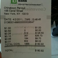 Photo taken at TD Bank by Regina M. on 4/2/2011