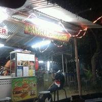 Photo taken at Santak Burger by Siti R. on 4/7/2012