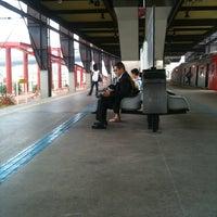 Photo taken at Estação Santo Amaro (Metrô) by Pedro M. on 8/8/2011