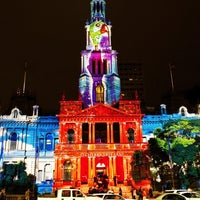 Photo taken at Sydney Town Hall by Mitch F. on 5/10/2011