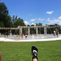 Photo taken at Piedmont Park Legacy Fountain by Liam P. on 8/14/2011