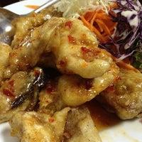 Photo taken at ร้านแหนมเนืองบ้านสวน หนองแค by BoZzii C. on 4/2/2012