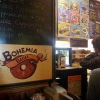 Photo taken at Bohemia Bagel by Mauro on 5/7/2012