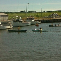 Photo taken at Skinners Pond Harbour by Chrissy A. on 7/11/2012