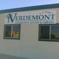 Photo taken at Verdemont Community Center & Library by Juanita W. on 9/21/2011