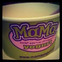 Photo taken at Mama Frozen Yogurt by Dianna L. on 7/29/2012