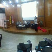 Photo taken at Auditorium FE UI by Muhamad B. on 11/25/2011