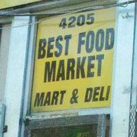 Photo taken at Best food market & deli by Lauryn B. on 6/26/2012