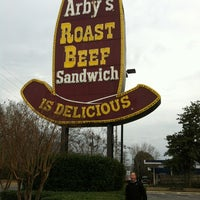 Photo taken at Arby's by Marlene D. on 1/8/2012