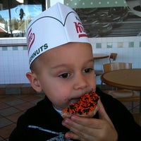 Photo taken at Krispy Kreme Doughnuts by Amanda L. on 10/15/2011