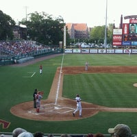 Photo taken at Dick Howser Stadium - Mike Martin Field by Karynn S. on 5/18/2012