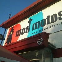 Photo taken at Mod Motos by Francisco Y. on 1/10/2012
