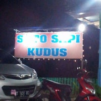 Photo taken at Soto Sapi Kudus by Zaly A. on 4/8/2012
