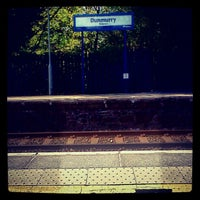 Photo taken at Dunmurry Train Station by Ben S. on 4/24/2012