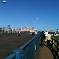 Photo taken at Ponte Internacional da Amizade by Dieggo L. on 9/22/2011