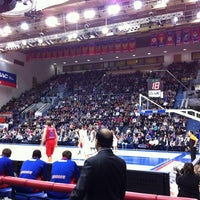Photo taken at Alexander Gomelsky CSKA USH by Yuri D. on 2/22/2012