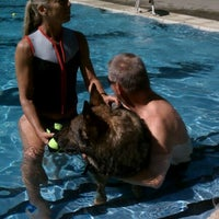 Photo taken at Brentwood Park & Pool by Christine on 9/18/2011