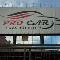Photo taken at Pro Car Lava Rápido by Raphael I. on 3/14/2012