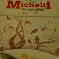 Photo taken at Michelli Ristorante Italiano by Lara Suely V. on 1/19/2012