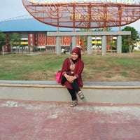 Photo taken at Jakabaring Sport City by Angreini O. on 8/19/2012