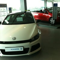 Photo taken at Volkswagen Catalunya Motor by Jonathan on 7/16/2012