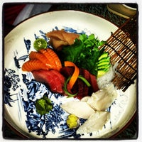 Photo taken at Musashino Sushi Dokoro by Mike A. on 7/21/2012